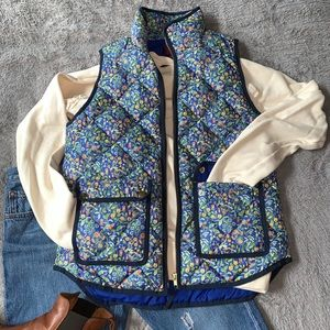J Crew // Excursion Vest in Catesby Floral